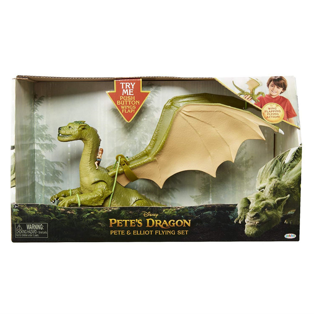 Disney Pete's Dragon Elliot and Pete Flying Playset 00457 - Maqio