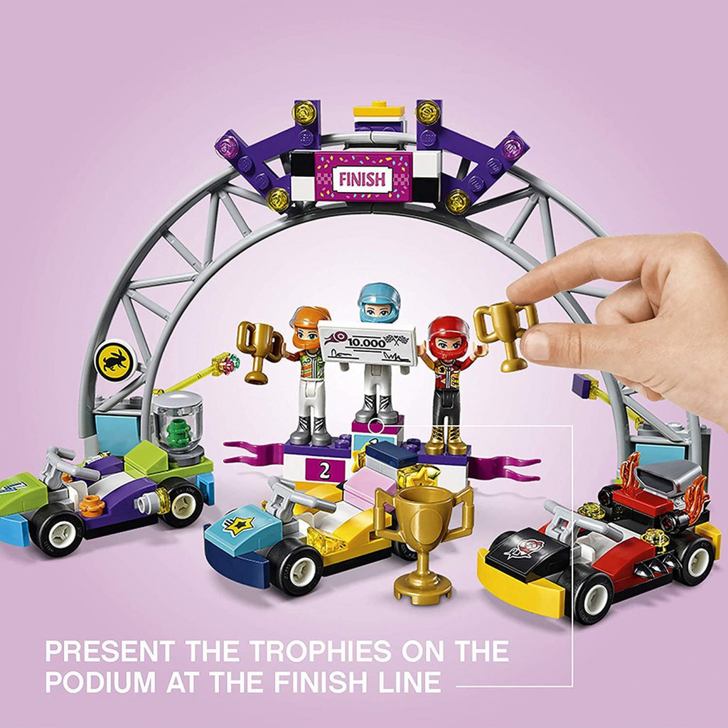 LEGO Friends 41352 The Big Race Day Building Set - Maqio