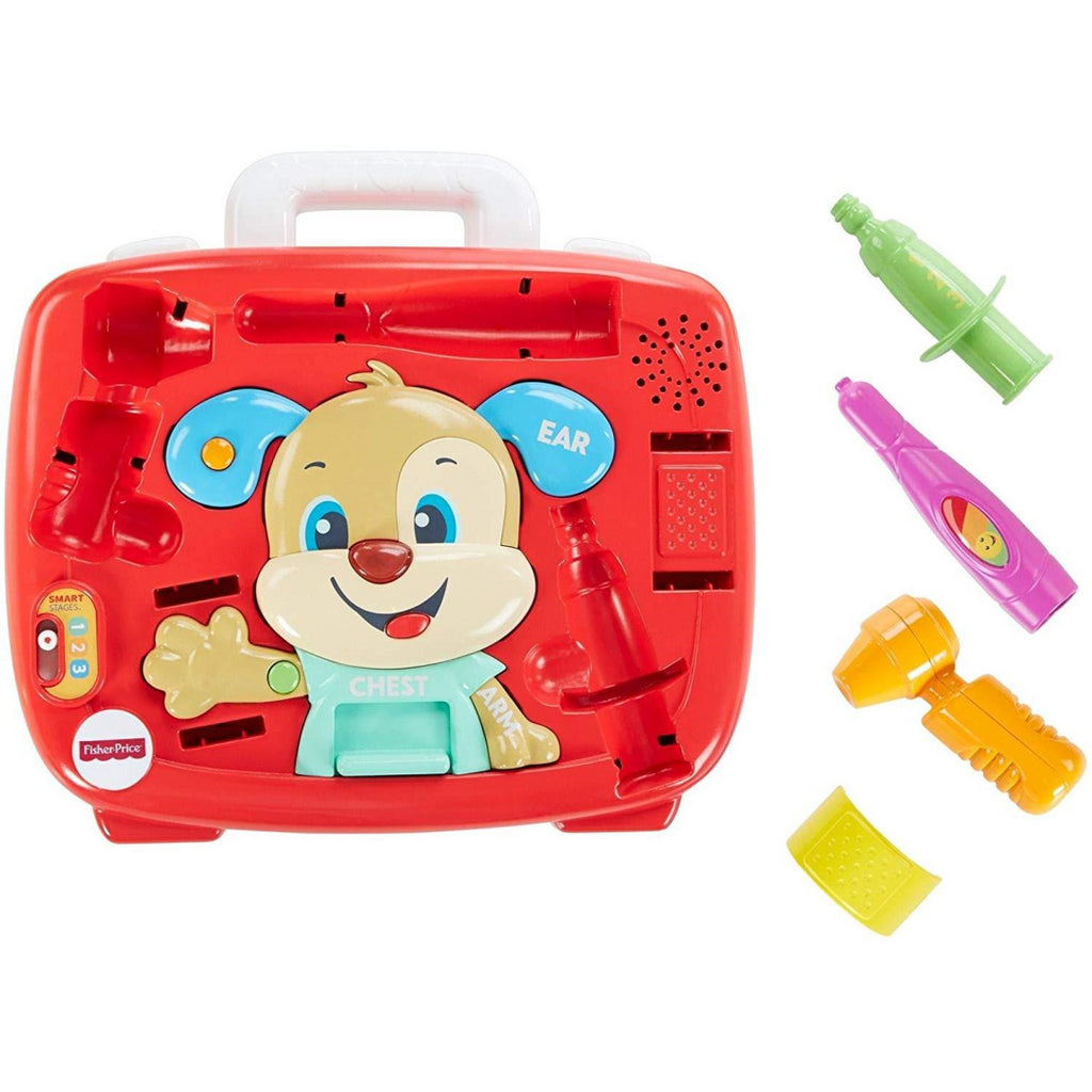 Fisher-Price FTH19 Laugh and Learn Puppy's Check-Up Kit - Maqio
