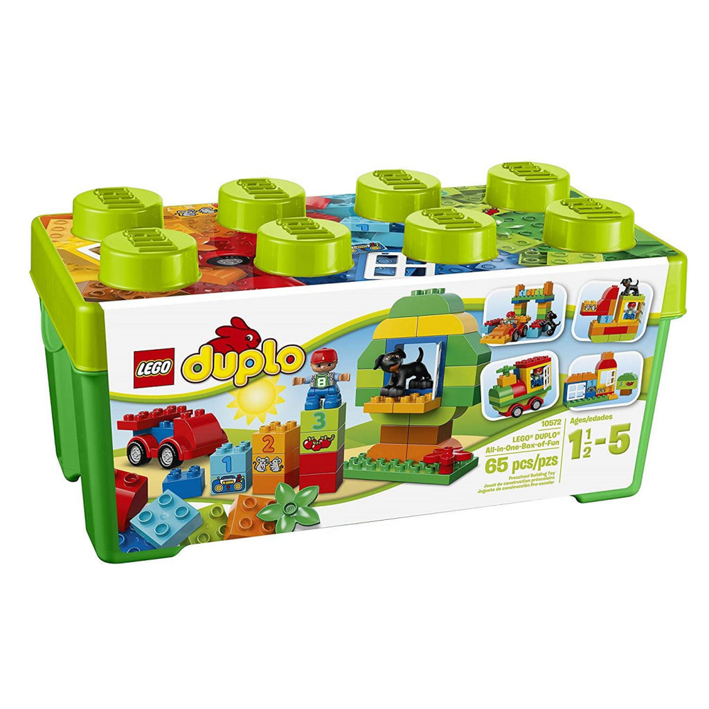 LEGO 10572 DUPLO Box of Fun with Storage Box All-in-1 Creative Building Bricks - Maqio