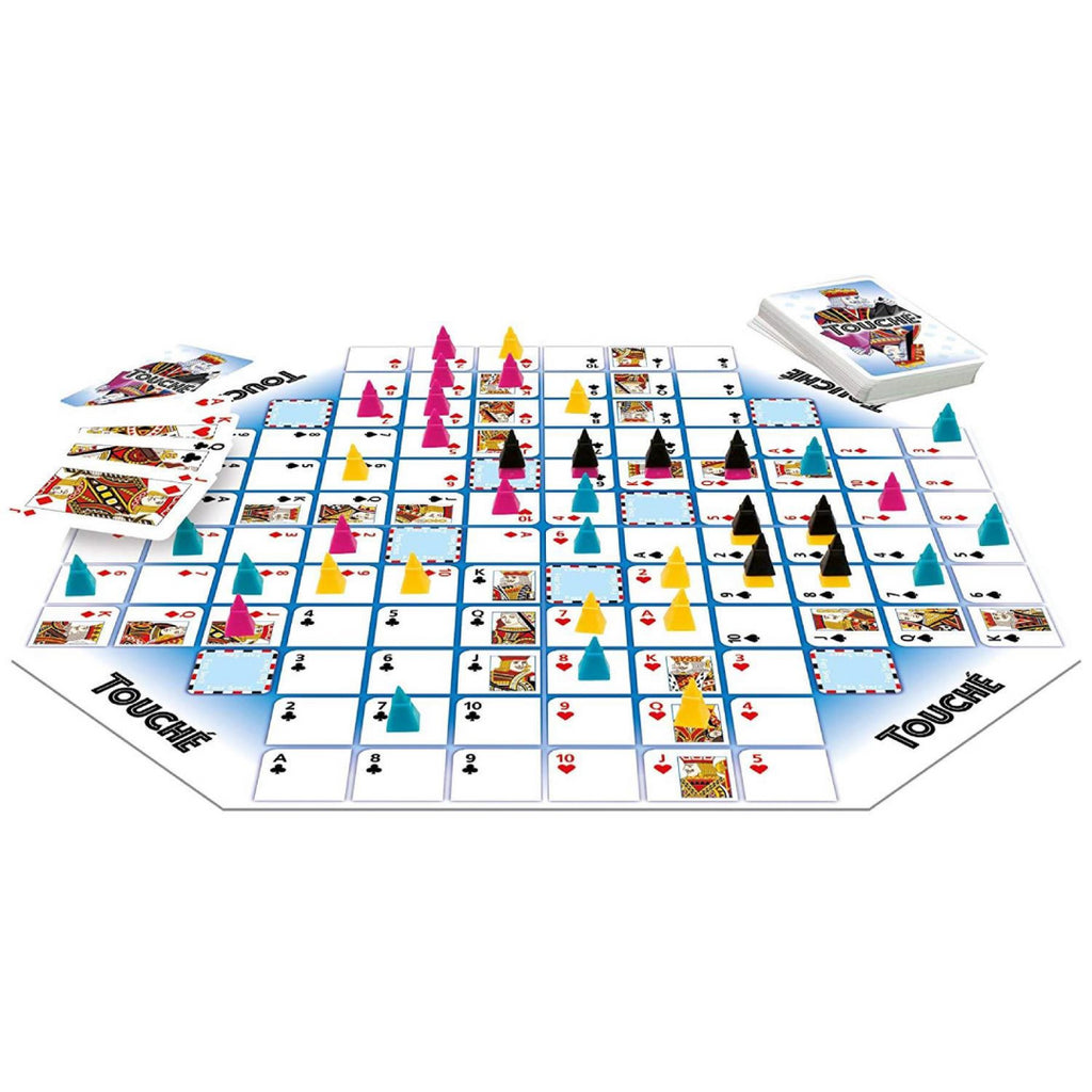 Tactic Games 02752 Touché Card & Board Game - Maqio
