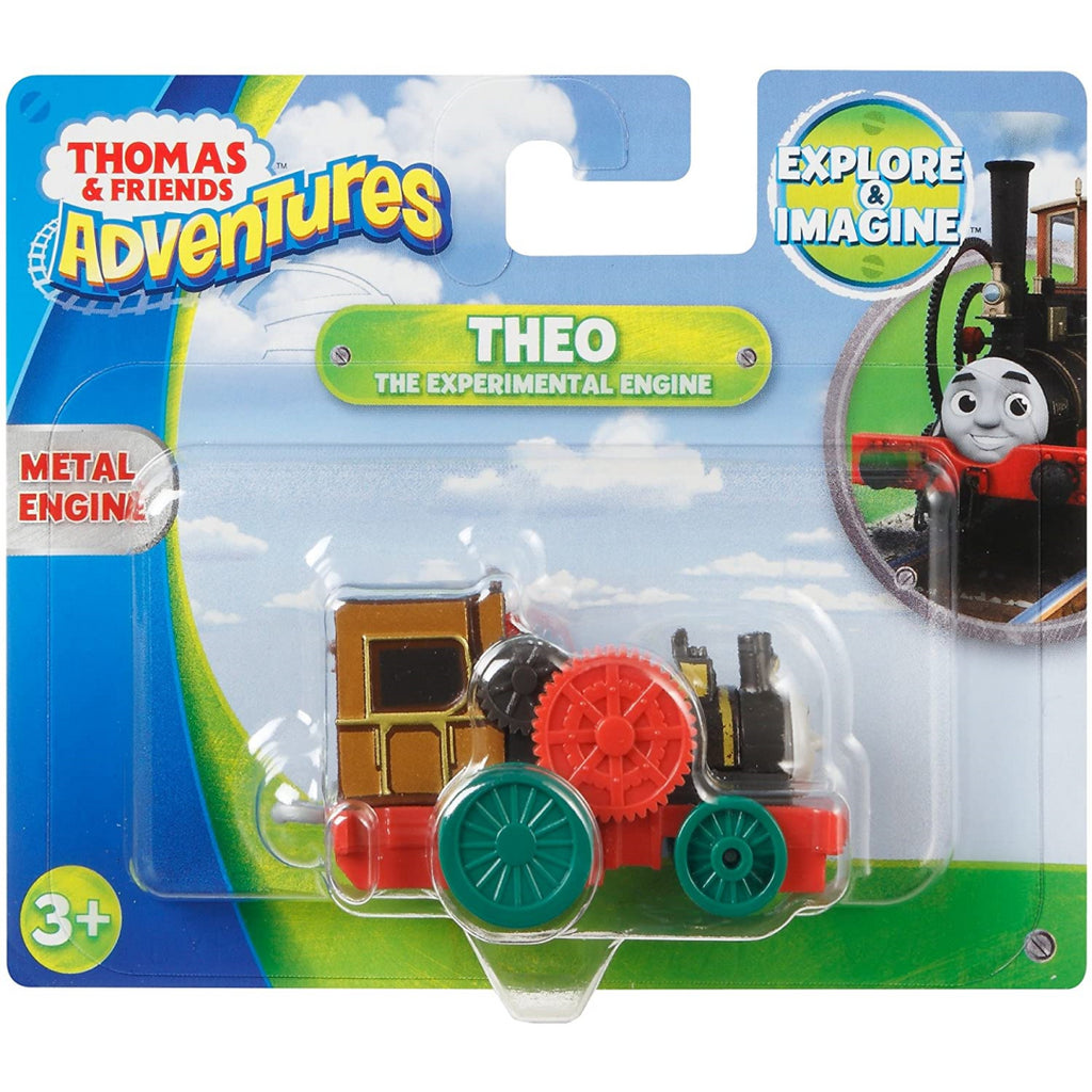 Thomas & Friends Adventures - Theo the Experimental Engine Toy DXR77 - Maqio