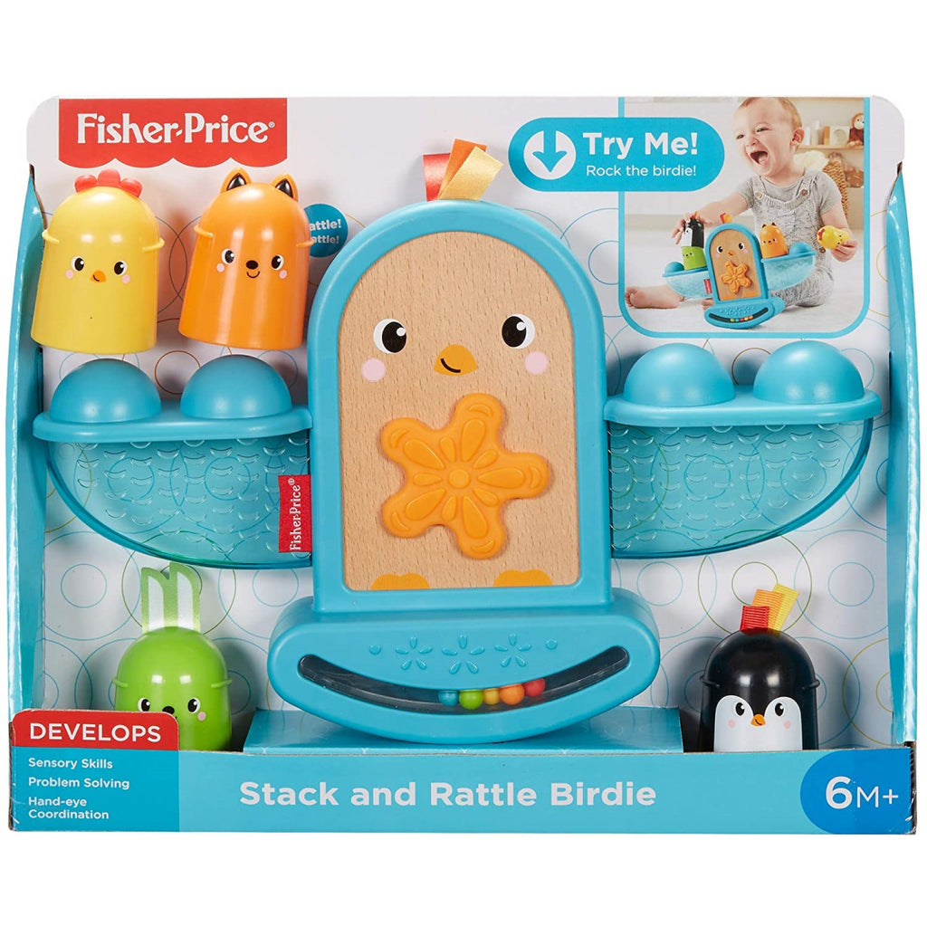 Fisher-Price Stack and Rattle Birdie GJW26 - Maqio