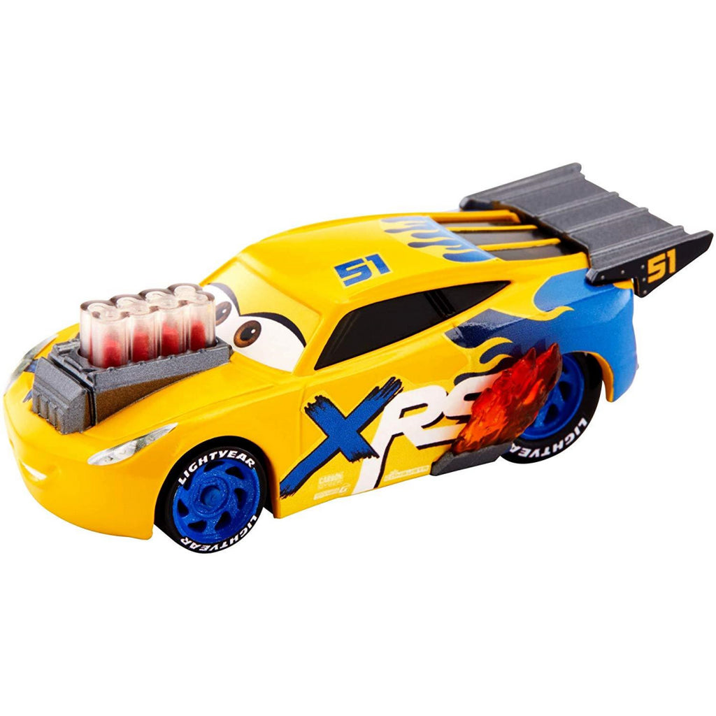 Disney Pixar's Cars XRS Drag Racing Cruz Ramirez 1:55 Scale Die-cast Vehicle - Maqio