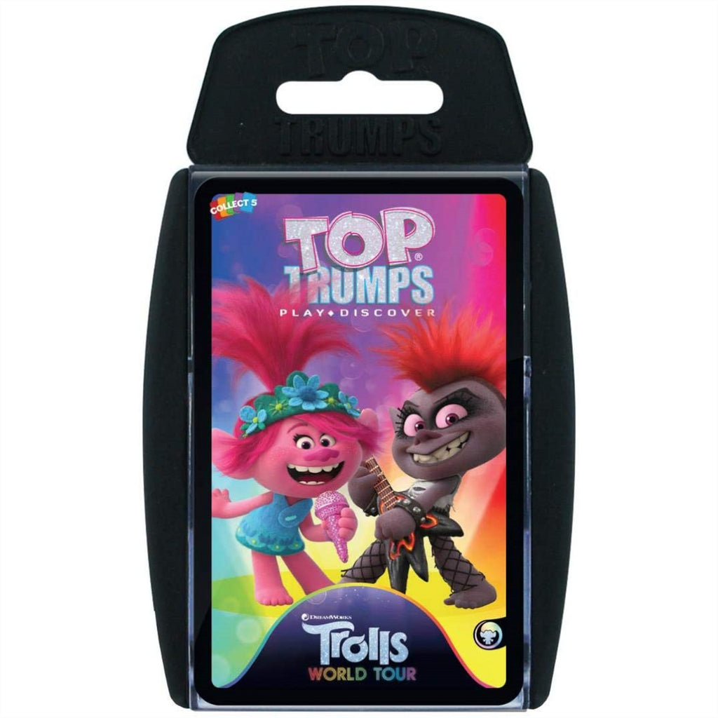 Top Trumps Cards - Trolls World Tour 038911 - Maqio