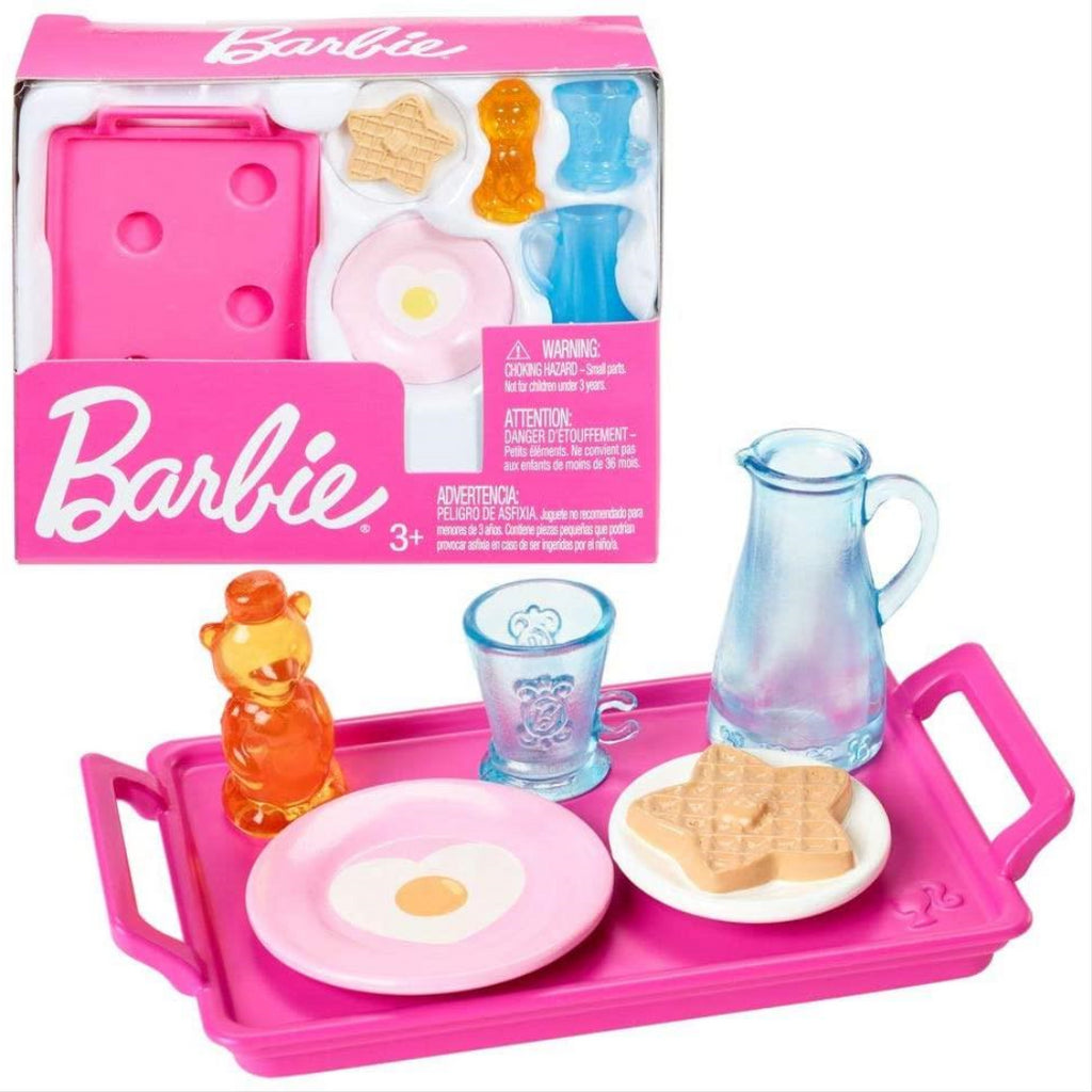 Barbie Breakfast Kitchen Home Accessories Set FXG28 - Maqio