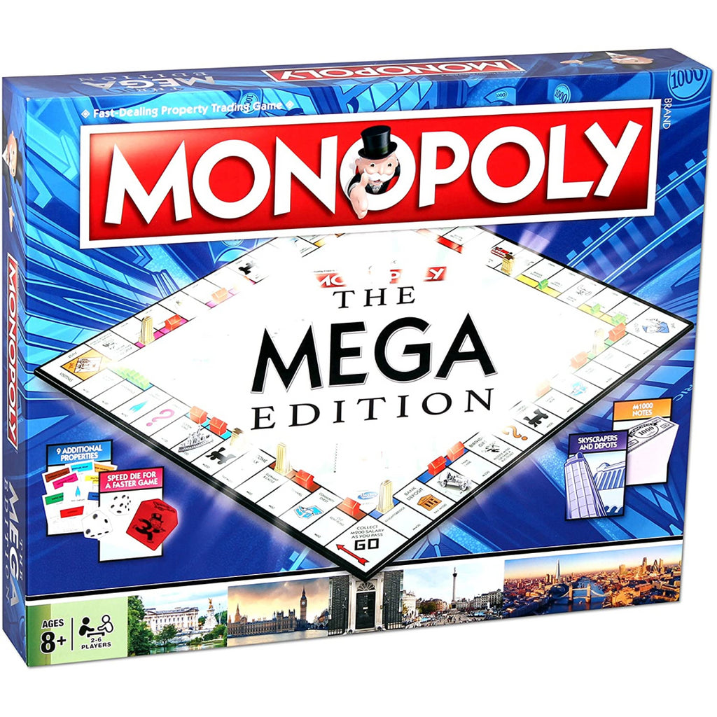 Winning Moves Mega Monopoly Board Game C4162 - Maqio