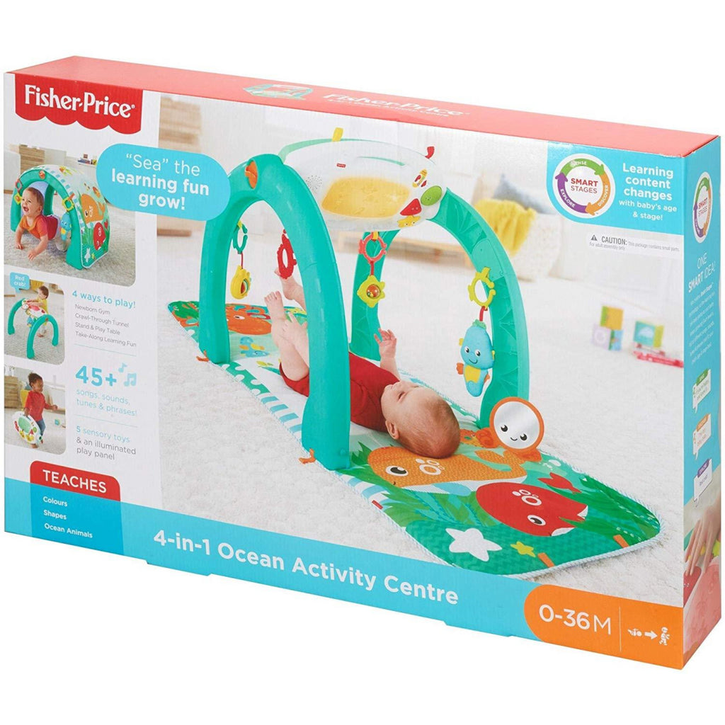 Fisher-Price 4-in-1 Ocean Activity Centre FNF24 - Maqio