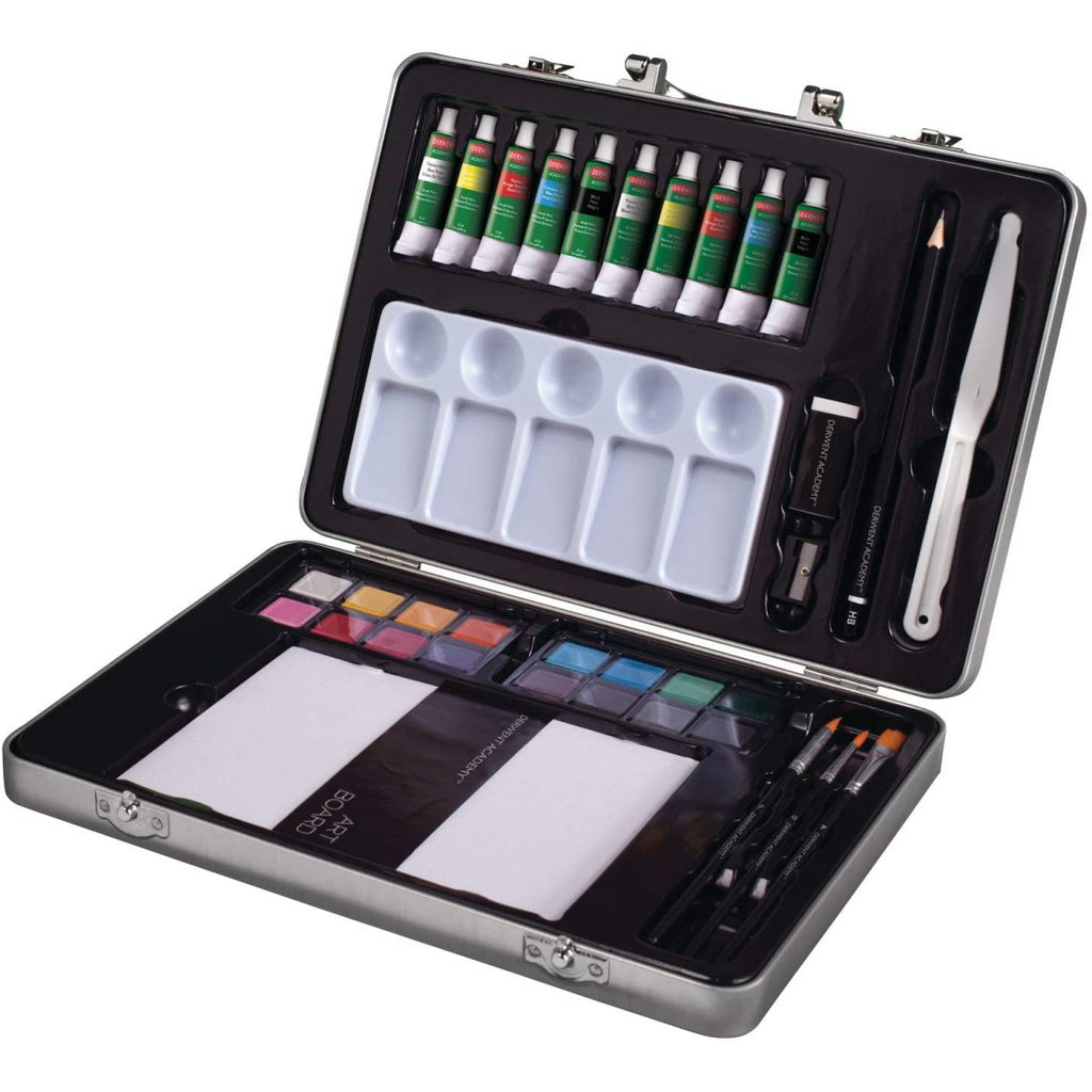 Derwent Academy 36 Piece Painting Art Set - Maqio