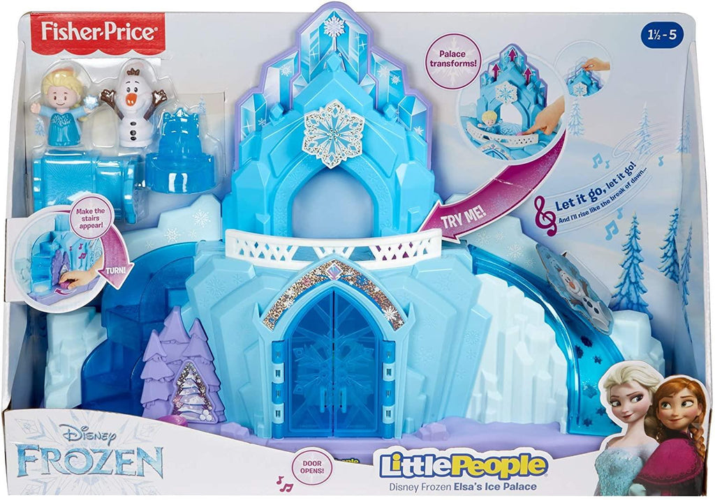 Little People Fisher-Price Disney Frozen Elsa's Ice Palace GGV29 - Maqio