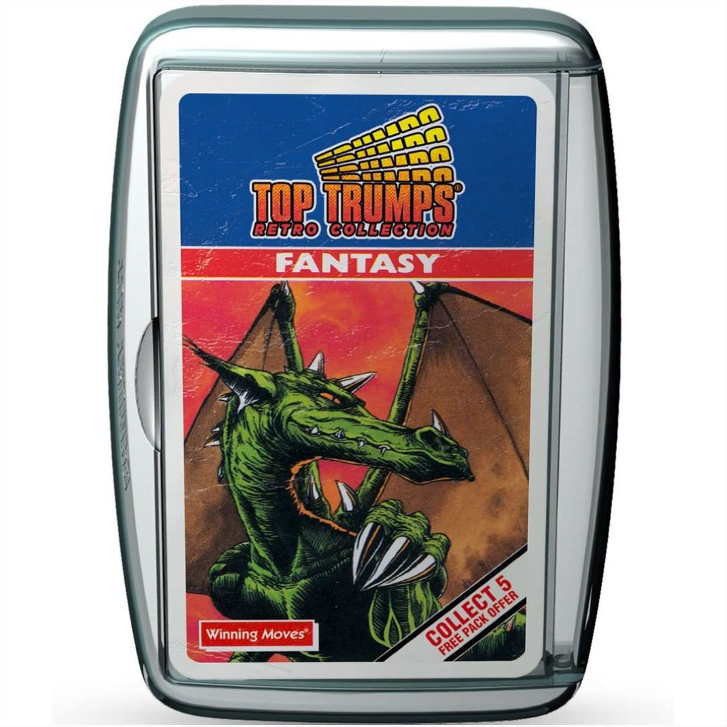 Top Trumps Cards - Retro Fantasy 002196 - Maqio