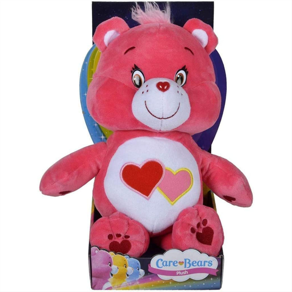 Care Bears Embroidered Plush - Love-a-Lot Bear 80160 - Maqio