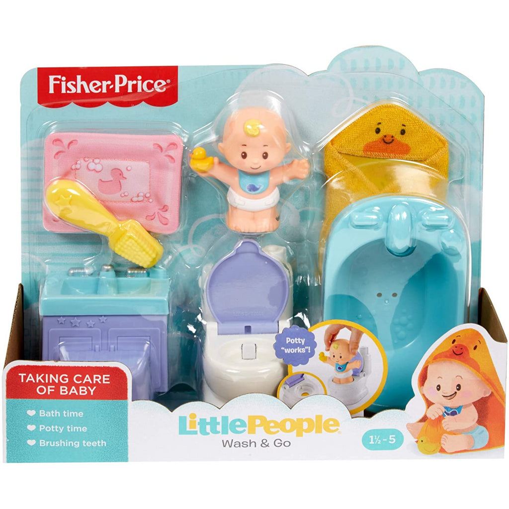 Fisher-Price Little People Wash & Go GKP66 - Maqio