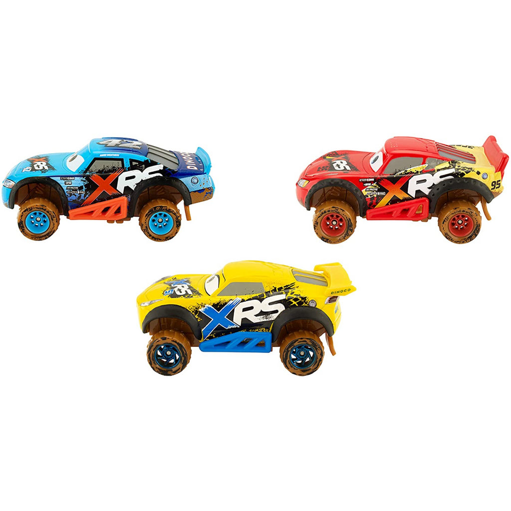 Disney Cars XRS 3 Vehicle Pack - Lightning, Cruz and Cal - Maqio