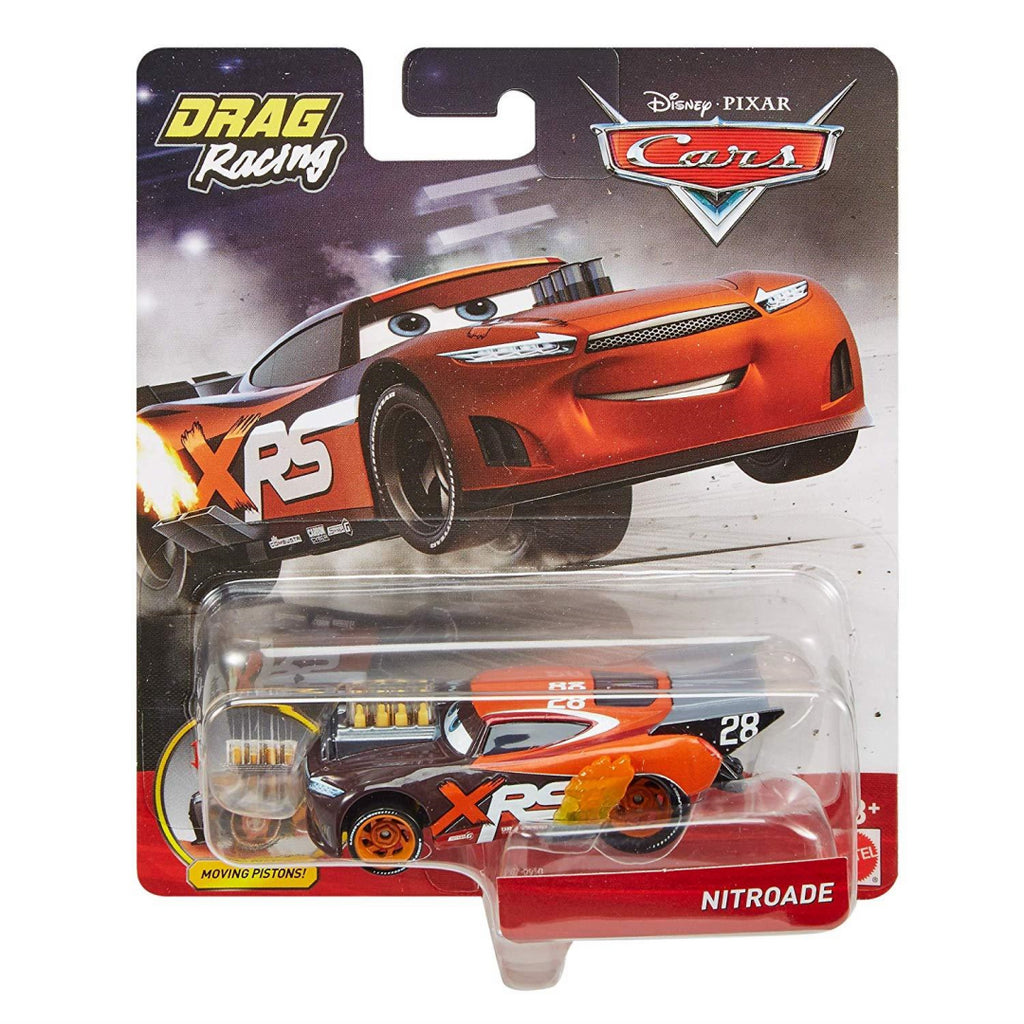 Disney Pixar's Cars XRS Drag Racing Nitroade 1:55 Scale Die-cast Vehicle - Maqio