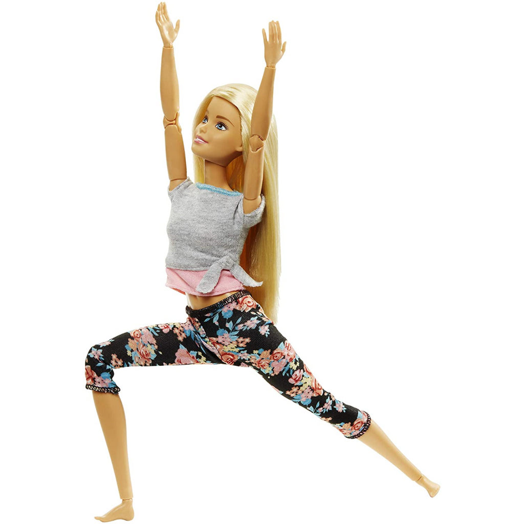 Barbie Made to Move Blonde Yoga Doll FTG81 - Maqio