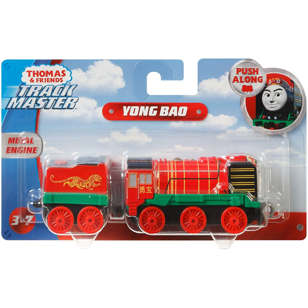 Thomas & Friends Trackmaster Yong Bao Push Along Die-Cast Train Engine - Maqio