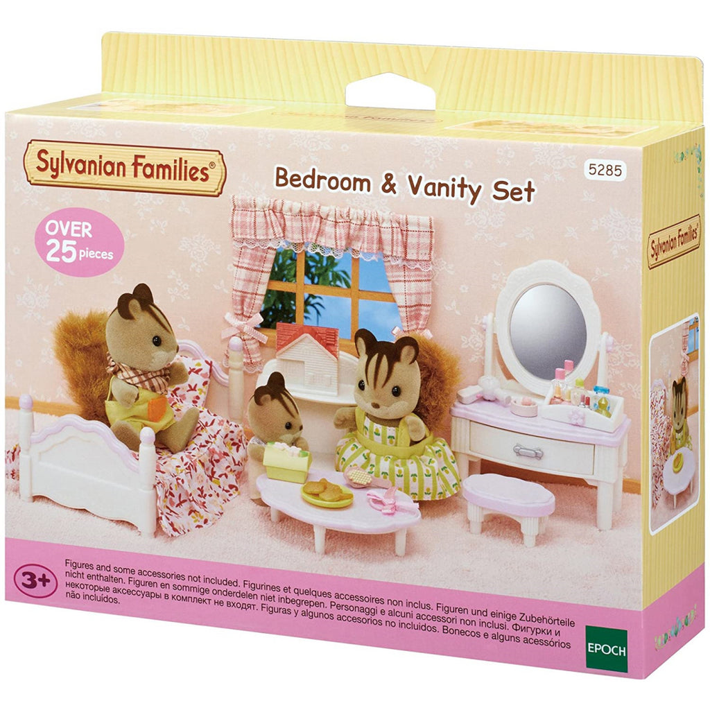 Sylvanian Families Bedroom and Make-Up Set 5285 - Maqio