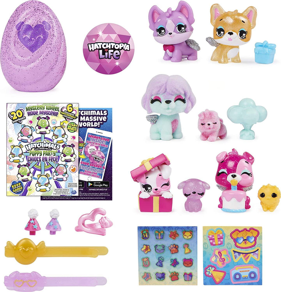 Hatchimals CollEGGtibles Puppy Party Mystery Wheel 6059963 - Maqio