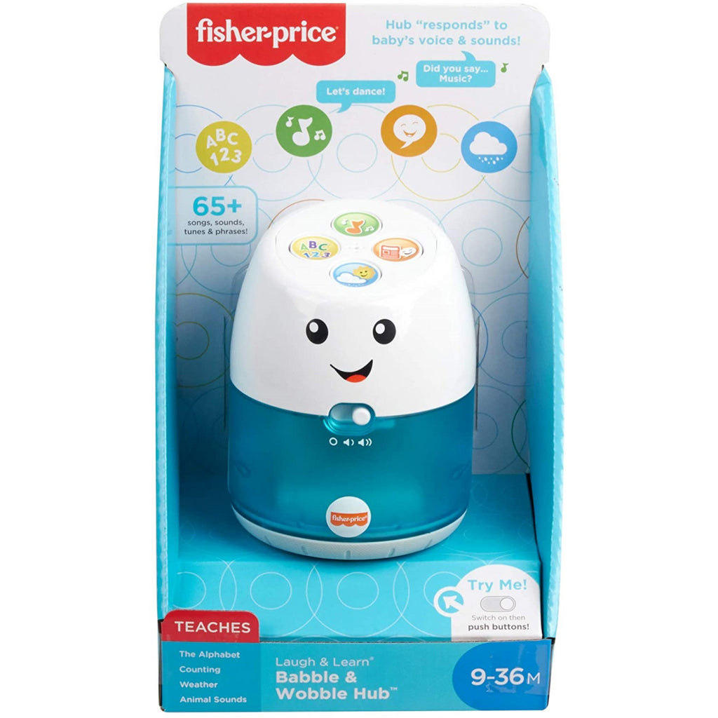 Fisher-Price Laugh & Learn Babble & Wobble Hub GJW61 - Maqio