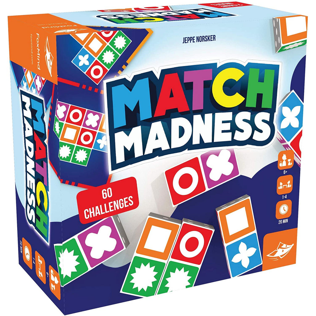Fox Mind Match Madness Visual Recognition Game 311830 - Maqio