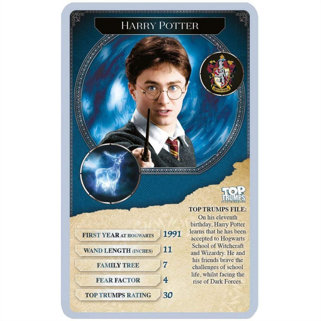 Top Trumps Cards - Harry Potter Greatest Witches and Wizards 001649 - Maqio