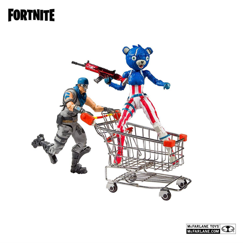 Fortnite Shopping Cart Pack W/Fireworks Action Figure 2-Pack 10591 - Maqio