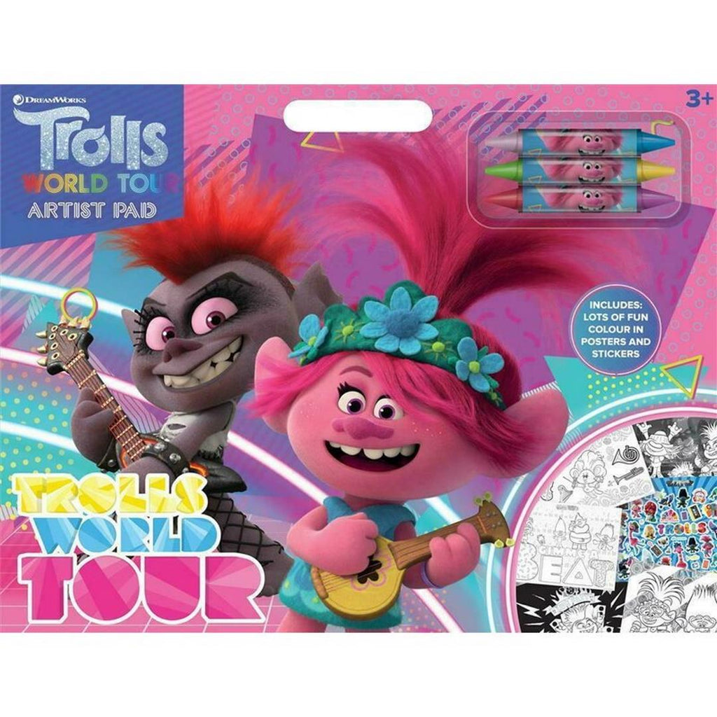 Trolls Movie Artist Pad - Maqio