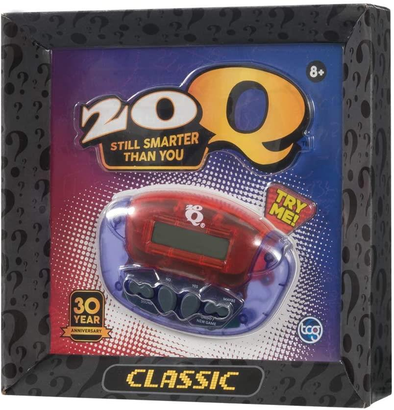 20Q Classic 30th Anniversary Electronic Guessing Game (Colours May Vary) - Maqio