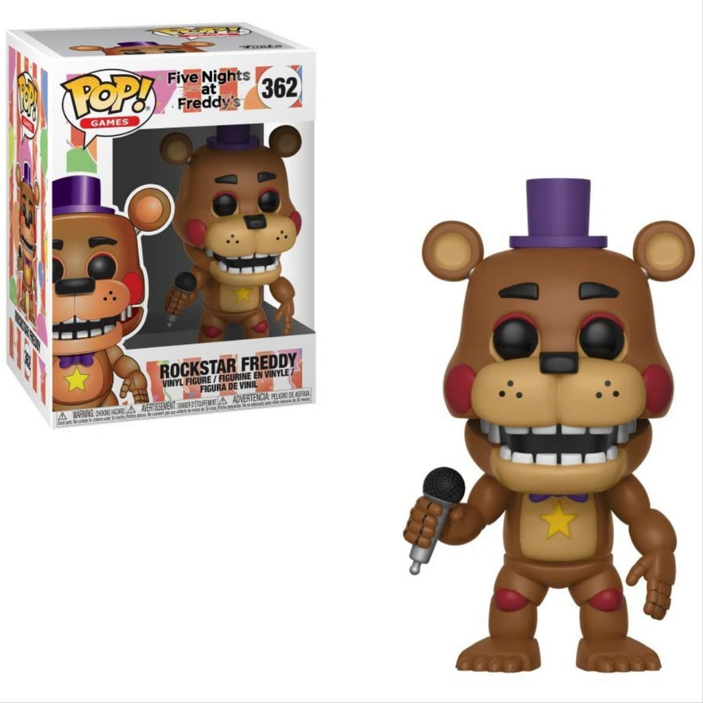 Funko POP Games Five Nights at Freddy's Rockstar Freddy Vinyl Figure 362 - Maqio