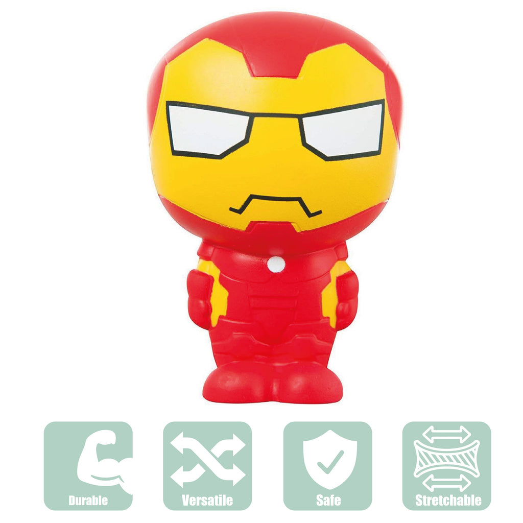 Marvel Avengers Squishy Palz Toys Kids Superhero Squishies Iron Man Toy 5669 (DM - Maqio