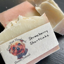 Load image into Gallery viewer, Strawberry Shortcake Handcrafted Soap