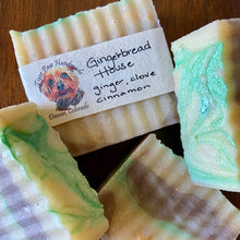 Load image into Gallery viewer, Gingerbread House Ginger, Clove, Cinnamon Handmade Soap