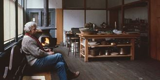Donald Judd in Spring St. loft, New York 1985