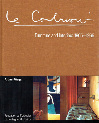 Front cover image-Le Corbusier Furniture and Interiors 1905-1965