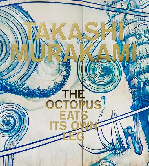Front cover-Takashi Murakami The Octopus Eats Its Own Leg