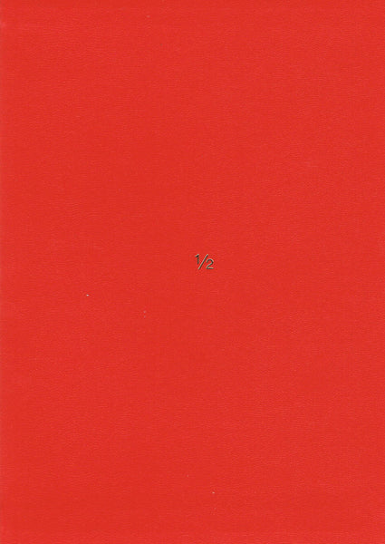 Cover photo of James Lee Byars's 1/2 An Autobiography