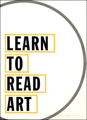 WEINER, LAWRENCE. LEARN TO READ ART: NY PUBLIC LIBRARY POSTER 1995