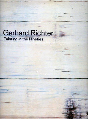 Front cover image-Gerhard Richter-Painting in the Nineties