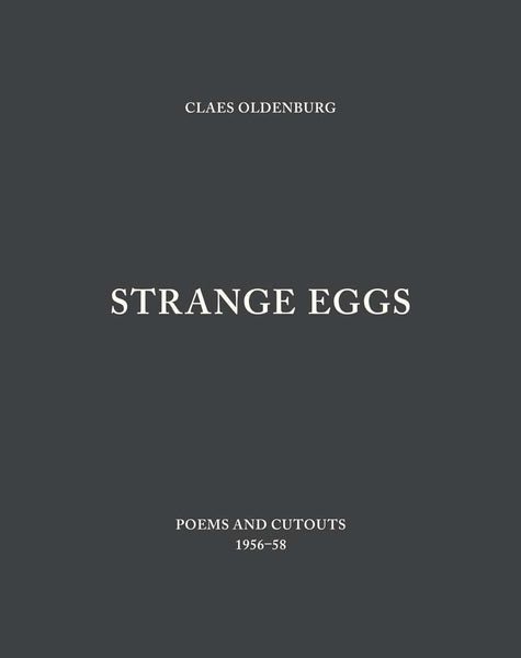 Front cover-Claes Oldenburg-Strange Eggs