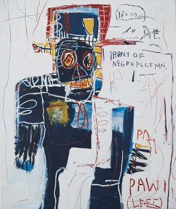 Cover image of Basquiat Nows the Time