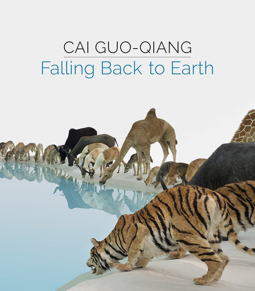 Cover image of Cai Guo-Qiang, Falling Back to Earth.