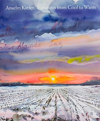 Front cover image-Anselm Kiefer: Transition from Cool to Warm