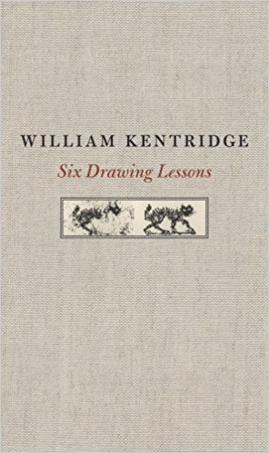 Front cover-William Kentridge-Six Drawing Lessons