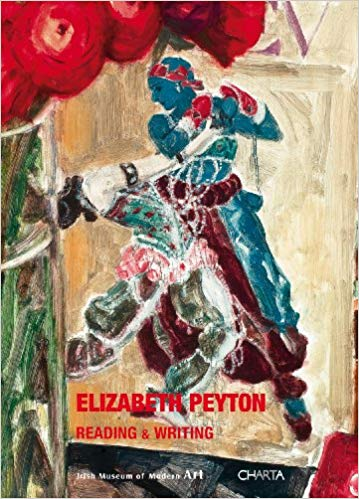 Front cover image-Elizabeth Peyton Reading & Writing