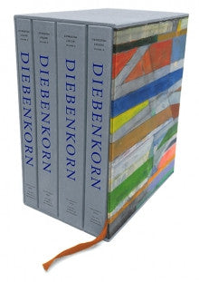 DIEBENKORN, RICHARD. CATALOGUE RAISONNÉ 4 VOL.
