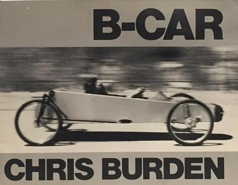 Front cover image-B Car-Chris Burden