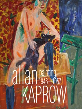 Front cover image-Allen Kaprow Paintings 1946-1957