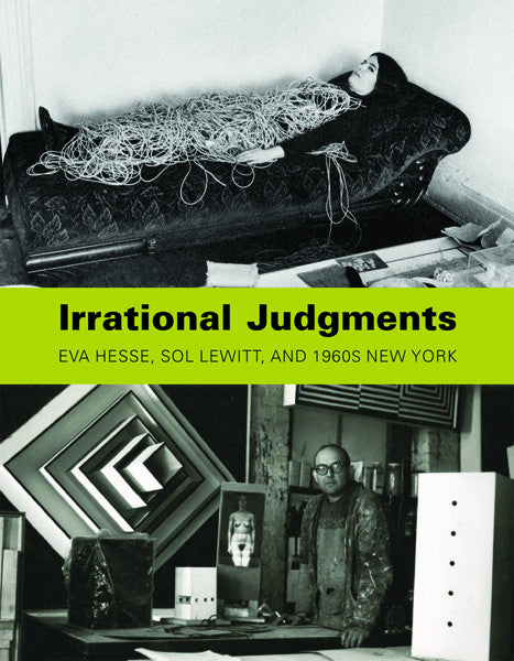front cover of Eva Hesse-Irrational Judgement