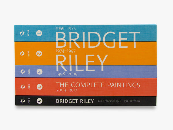 Front Cover Image-Bridget Riley-Catalogue Raisonnes
